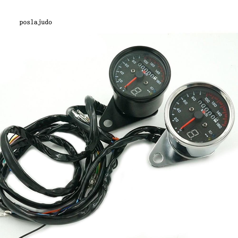 Đồng hồ đo tốc độ xe máy posl 12V có đèn LED cho xe hơi - 13768919 , 2335809202 , 322_2335809202 , 315306 , Dong-ho-do-toc-do-xe-may-posl-12V-co-den-LED-cho-xe-hoi-322_2335809202 , shopee.vn , Đồng hồ đo tốc độ xe máy posl 12V có đèn LED cho xe hơi