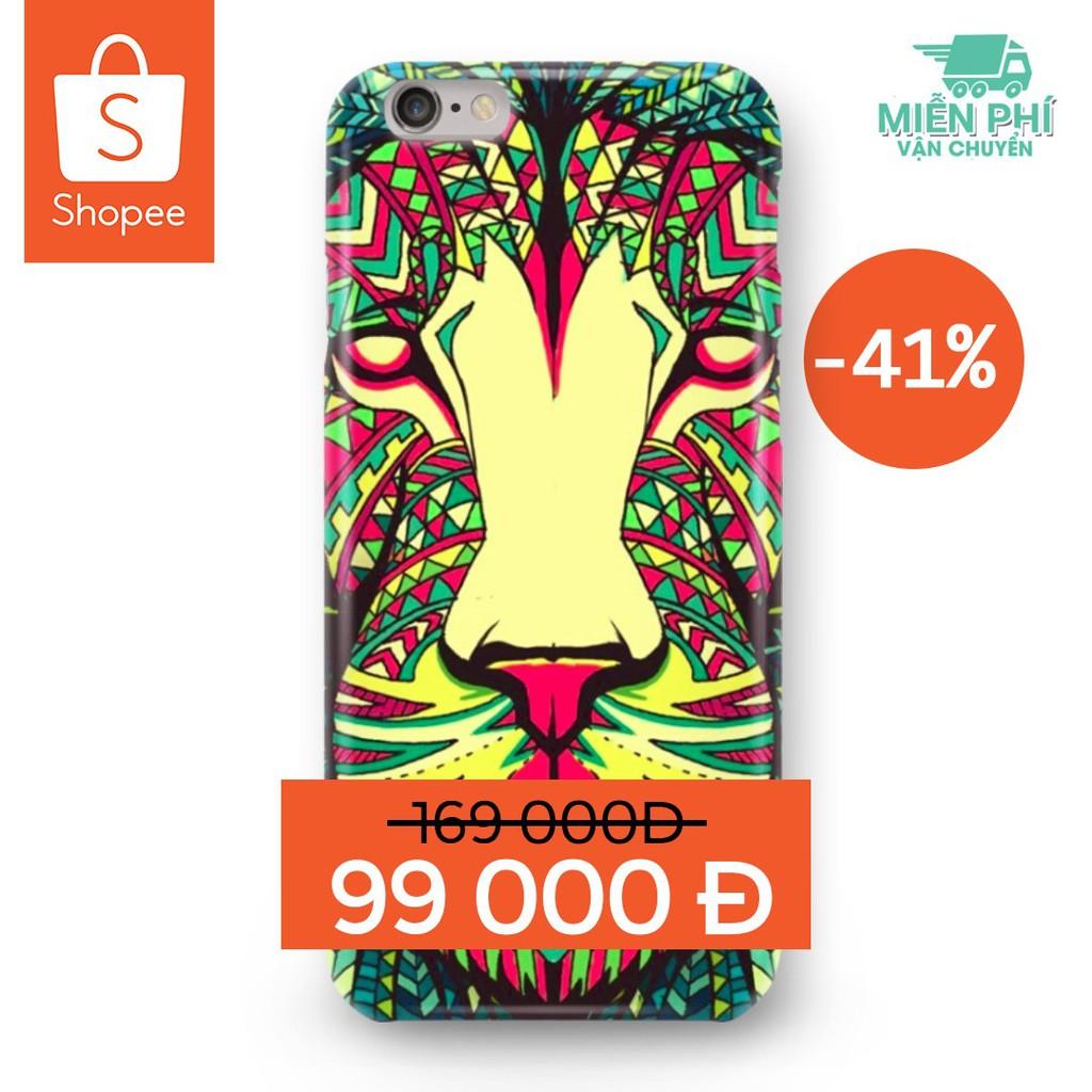 Ốp Lưng họa tiết Luxy Tiger Sư tử 3D cho điện thoại cực chất - dành cho iPhone/Samsung giá cực tốt