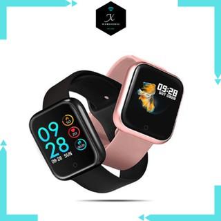 Đồng hồ thông minh T500 Plus smart watch thiết kế hiện đại - thay dây được