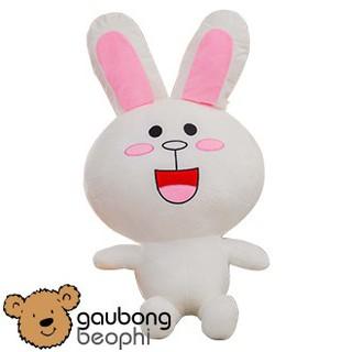 Gấu bông thỏ cony màu trắng size 80cm hàng cao cấp chất lượng