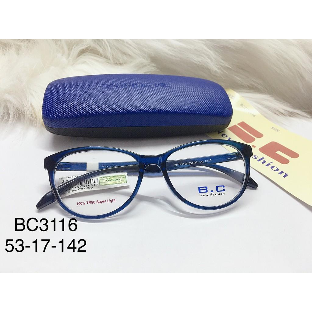 Giá bán Gọng Kính Cận Nhựa Dẻo Dạng Mắt Mèo Chính Hãng Bc3116 Hàn Quốc