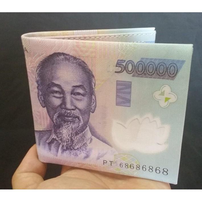 Ví Nam in hình tờ tiền 500K - 3358559 , 618896583 , 322_618896583 , 80000 , Vi-Nam-in-hinh-to-tien-500K-322_618896583 , shopee.vn , Ví Nam in hình tờ tiền 500K