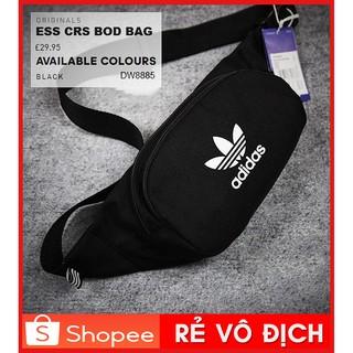 ⚡️ (Ảnh thật) Túi đeo chéo Adidas ORIGINALS ESSENTIAL CROSSBODY BAG – BACK DV2400 [GIÁ RẺ] – CAM KẾT CHẤT LƯỢNG NHẤT