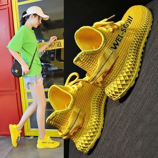 Giày Thể Thao Phối Lưới Thời Trang Hàn Quốc Cho Nữ
