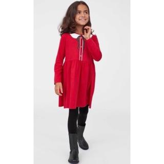 Váy H&M màu đỏ cho bé gái 1/2,2/4T