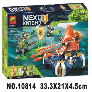 Đồ chơi lắp ráp lego nexo knights Bela 10814
