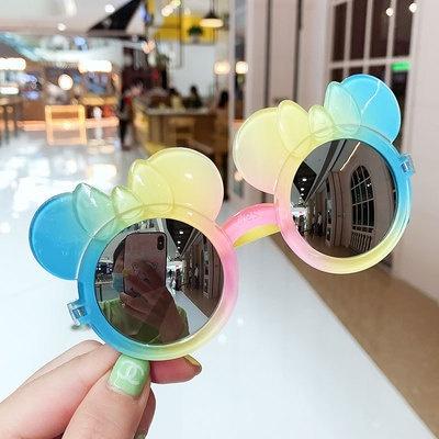 Mắt kính họa tiết chuột Mickey thời trang Hàn Quốc cho nữ