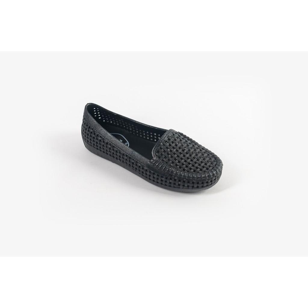 Giày nhựa đi mưa Nữ Solemate PVC01 Đen