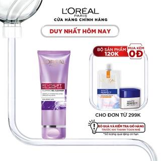 Sữa rửa mặt giúp da sáng mịn L Oreal Paris Revitalift Hyaluronic Acid 100ml thumbnail