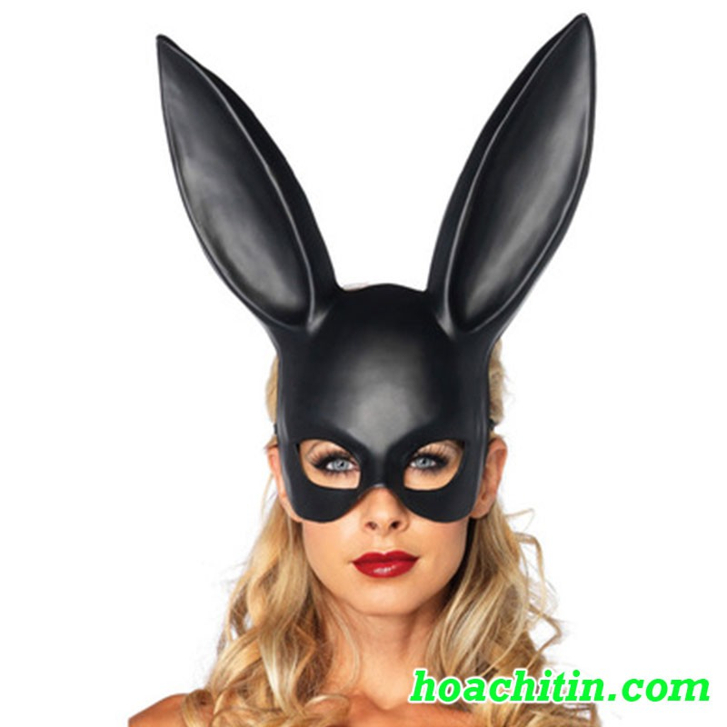 MẶT NẠ THỎ TAI DÀI BUNNY thỏ đen sexy