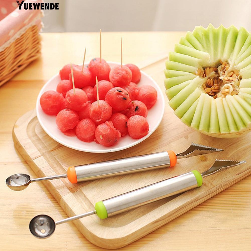 Bộ dụng cụ chạm khắc trái cây chất liệu thép không gỉ