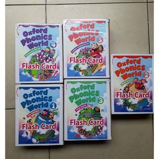 Thẻ học tiếng Anh Flashcard Oxford Phonics