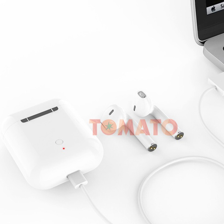 Tai Nghe Bluetooth Không Dây inpods i12 TWS Combo Vỏ ốp lưng Case Airpod Airpods Pro 1 2 IPhone - Phụ Kiện Tomato