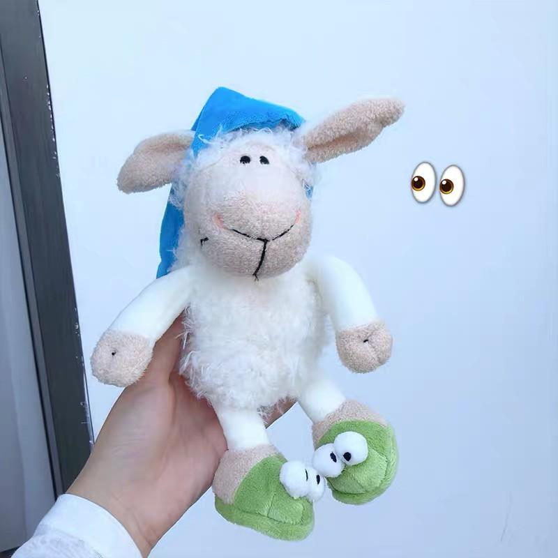 Cừu Nhồi Bông Mềm Mại Xinh Xắn Theo Phong Cách Hàn Quốc
