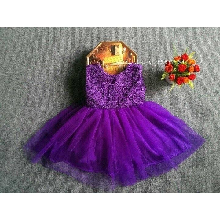 102156213 - đầm công chúa bé gái-Đ13