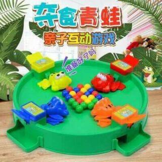 Bộ đồ chơi ếch tranh ăn