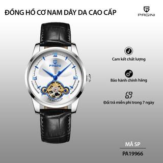 [Fullbox] Đồng hồ cơ nam automatic PAGINI lộ máy PA19966 hàng chính hãng - Bảo hành