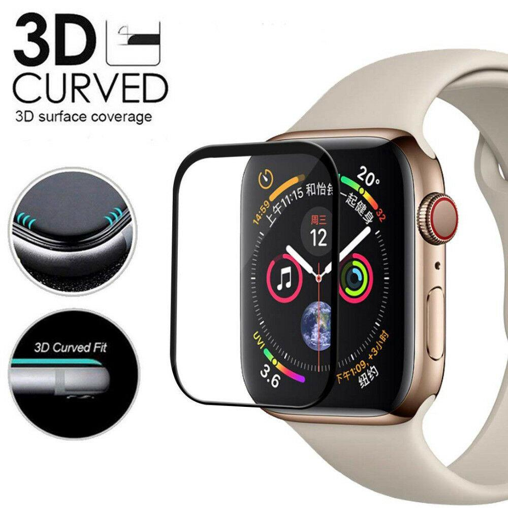 Kính cường lực bảo vệ màn hình đồng hồ thông minh Apple Watch Series 4 3D 40MM / 44mm