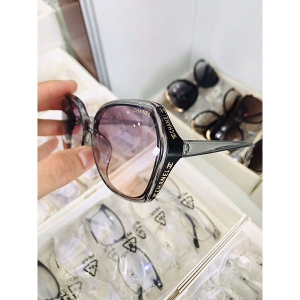 50 Kính Mát Nữ TrúcBùi chống UV400, thiết kế mắt vuông dễ đeo, màu sắc thời trang T3502