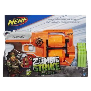 Đồ Chơi Nerf Zombie Strike FlipFury cò màu cam nhập từ Mỹ