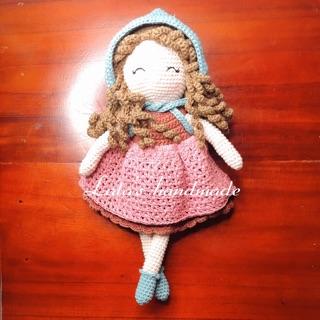 Búp bê Anna handmade quà tặng đáng yêu
