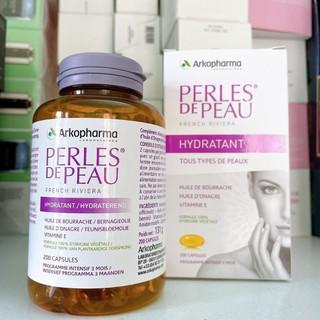 viên uống làm đẹp da arkoparma 200 viên perles de peau của pháp(date 2024) thumbnail