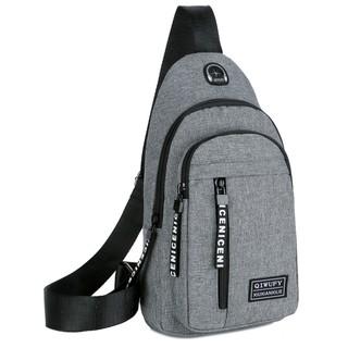 Túi đeo chéo nam vải bố TX9125 – TX8032