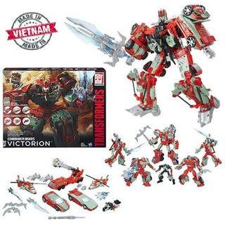 6 robot ráp thành 1 robot to 30cm – Transformers – Combiner Wars VICTORION