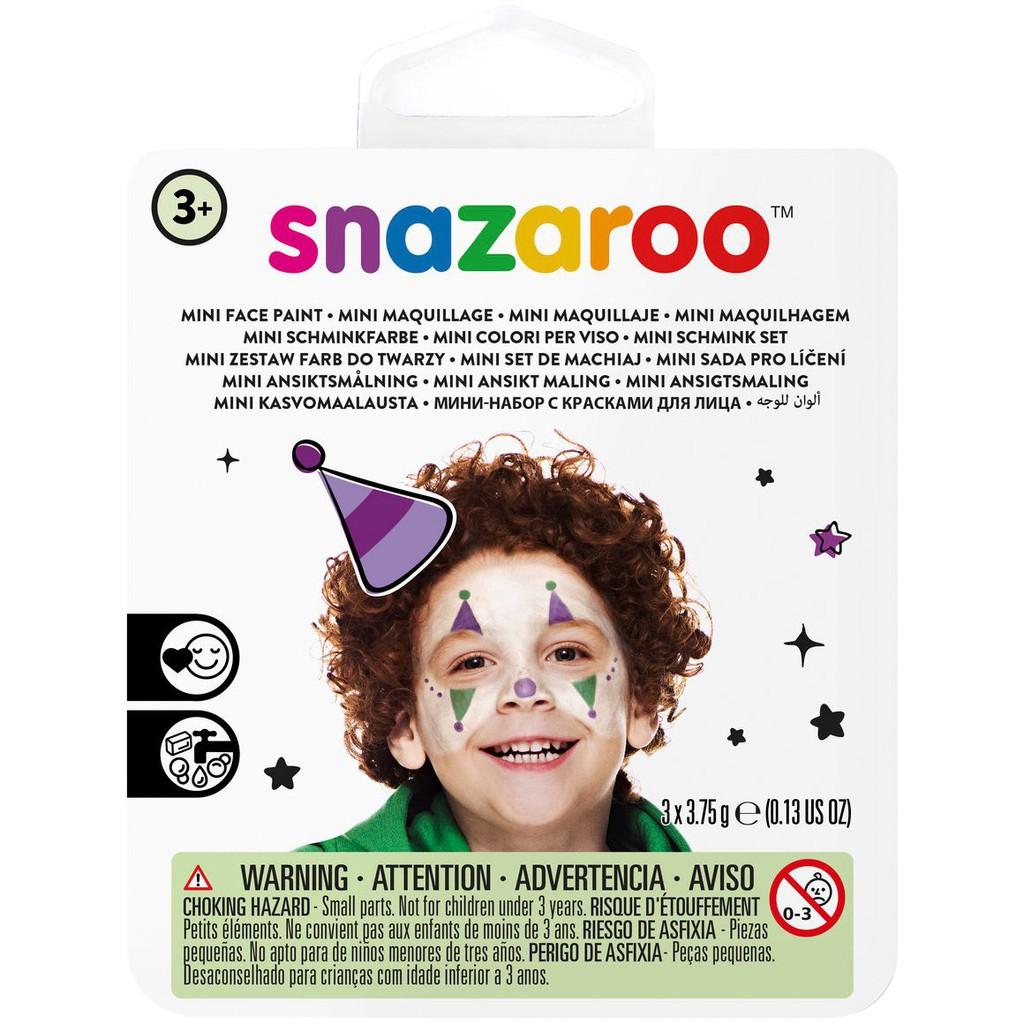18 Hộp Màu Mini Vẽ Mặt Hoá Trang Halloween makeup Snazaroo Hộp Nhỏ