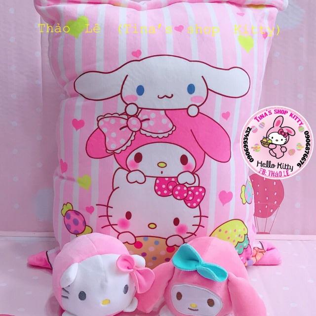 Gấu – gối Kitty 2in1