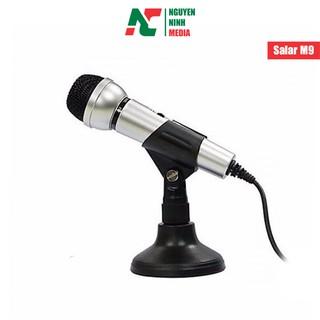 [Mã ELFLASH3 hoàn 10K xu đơn 20K] Microphone Salar M9