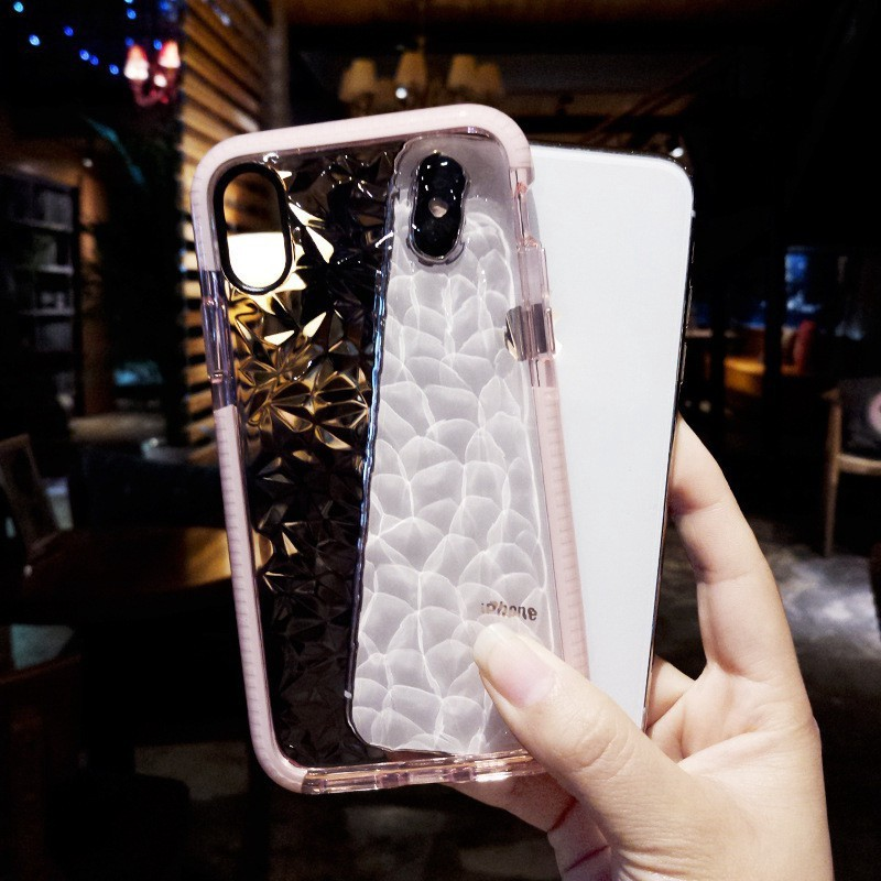 tani ogromna zniżka Trampki 2018 Transparent Full Protective Soft Casing iPhone 6 6s Plus 7 8 ...