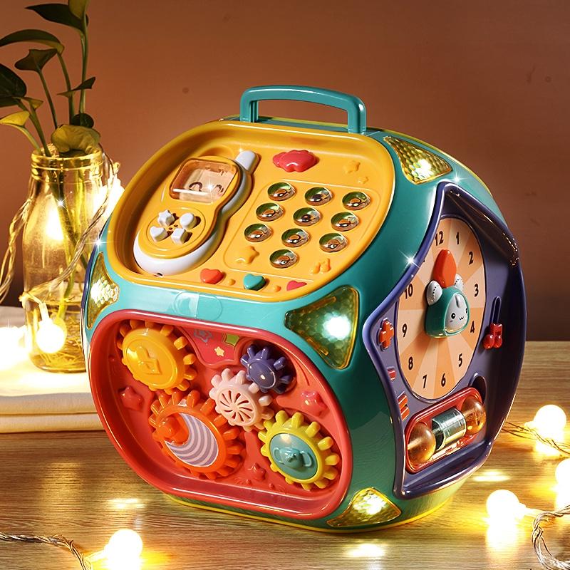 Hộp đồ chơi âm nhạc cho bé