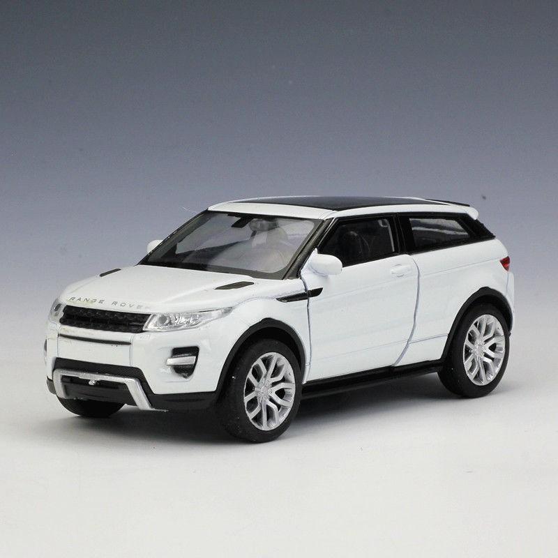 Mô Hình Xe Hơi Welly 1:36 Land Rover Range Rover Evoque Die Cast Model Car Pull Back Toy New