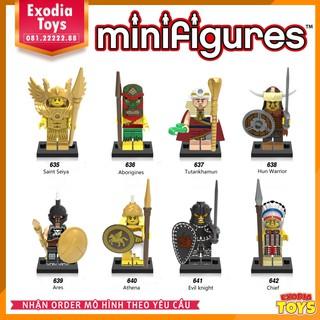Bộ 8 minifigure nhân vật hiệp sĩ cổ đại – X0163