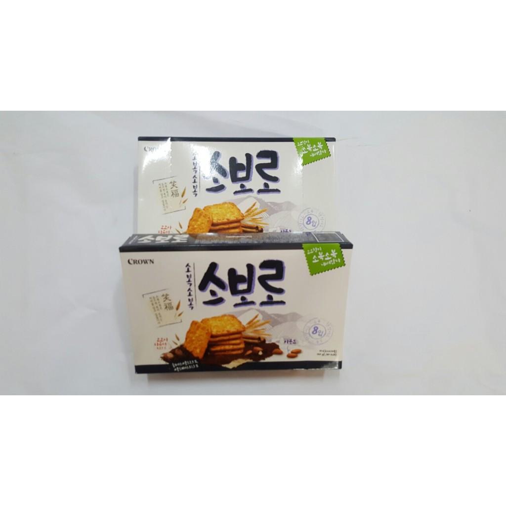 Bánh Soboro hạnh nhân Hàn Quốc