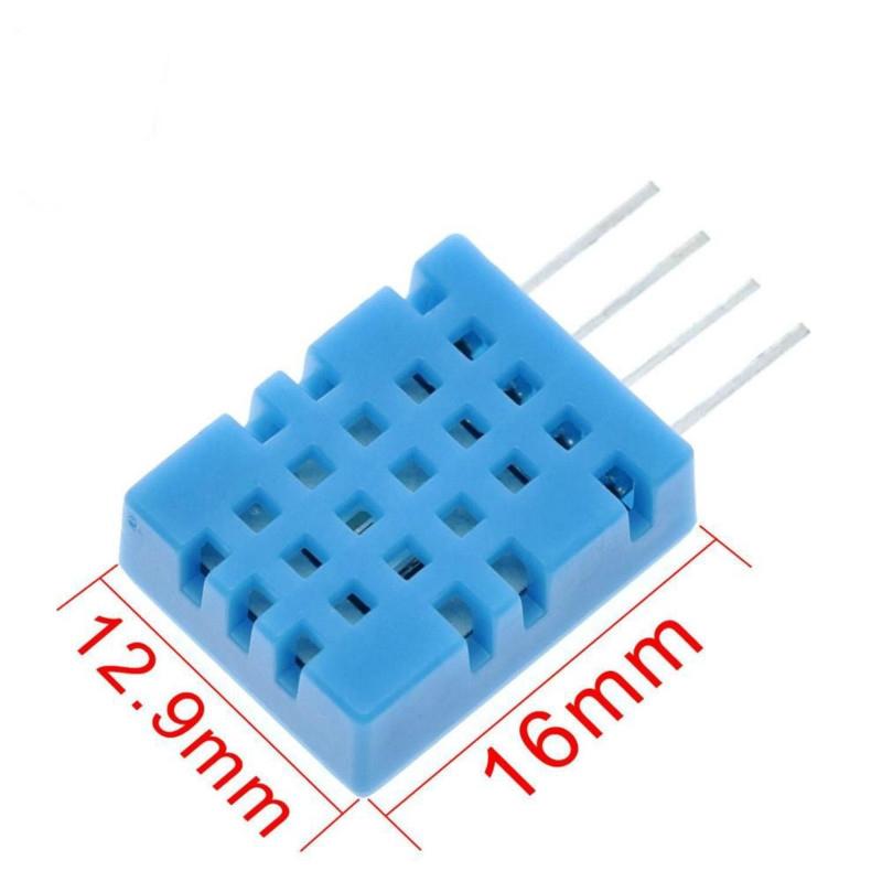 Linh kiện cảm ứng nhiệt độ/độ ẩm kỹ thuật số DHT11 DHT-11 cho bộ vi điều khiển arduino DIY