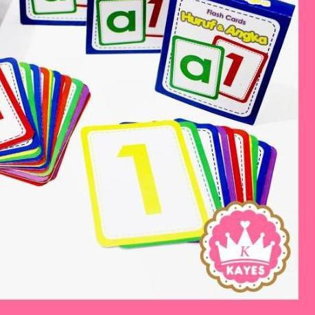 ➮ Thẻ Ghi Nhớ Chữ Cái Và Số Thông Minh Cho Bé Thẻ Nhớ a-z Hình Chữ Số