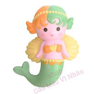 [ SALE đến ngày 20/9 ] – Squishy Nàng Tiên Cá kute 16cm chính hãng Oriker