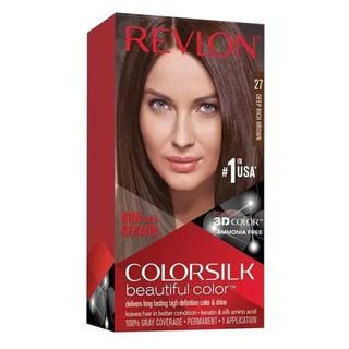 Thuốc nhuộm tóc Revlon Deep Rich Brown 27 - Mỹ - 130ml