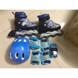 Bộ giày trượt patin full phụ kiện cho bé