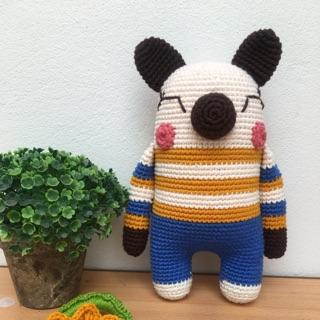 Thú Ú Nu len móc tay nhồi bông handmade!