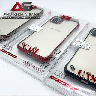Ốp lưng nhám, chống vân tay, chống sốc viền màu thương hiệu KST Design cho iphone thumbnail
