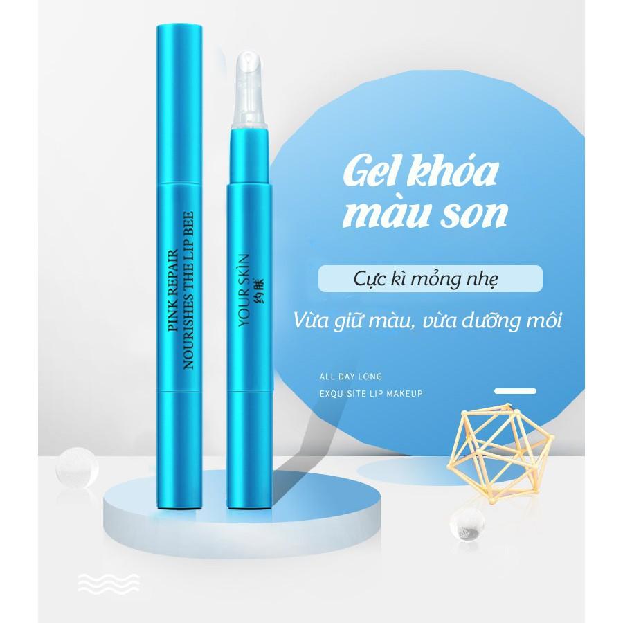 Gel khóa son môi giúp giữ màu son bền màu không trôi không lem gel giữ màu son GS01