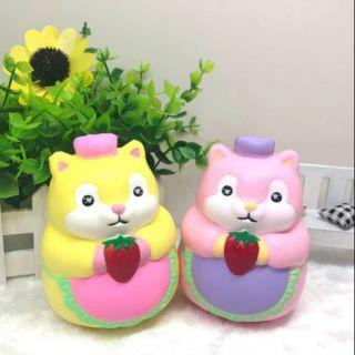 Squishy hamster ôm dâu siêu mềm và thơm