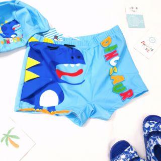 Set quần và mũ bơi bé trai thumbnail