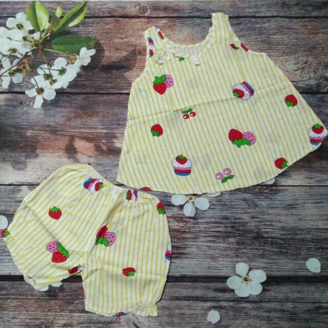 Quần áo trẻ em- đồ tole( tôn, lanh) bé gái.