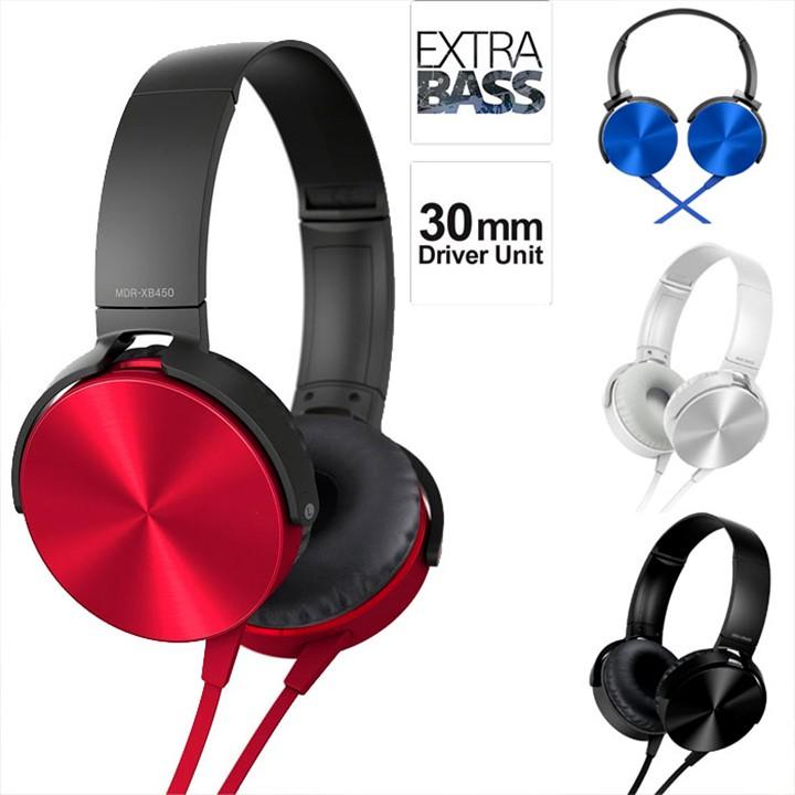 Tai nghe chụp tai Extra Bass XB450AP âm thanh chuẩn càng nghe càng hay 📌📌📌 Tai nghe chụp tai giá rẻ 2021