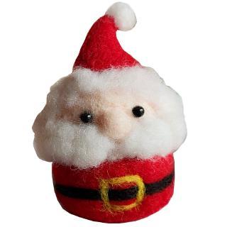 Phụ Kiện Trang Trí Giáng Sinh Hình Tuần Lộc Bằng Len Dễ Thương