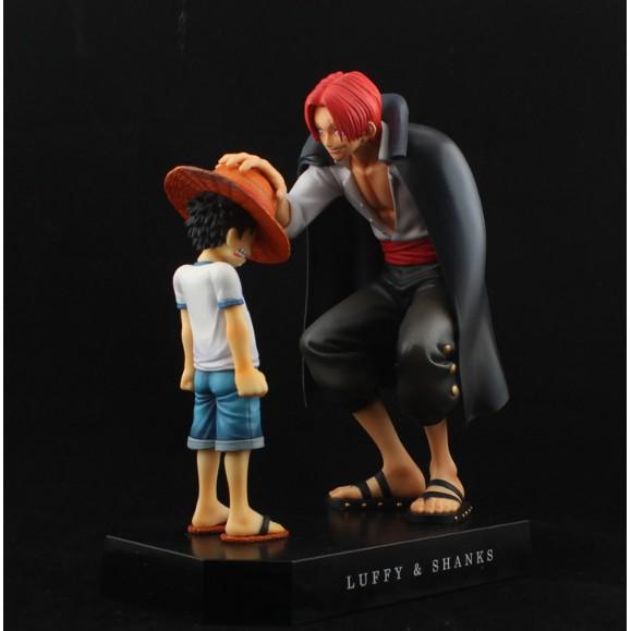 Mô hình Shanks vs Luffy - Onepiece | Shopee Việt Nam
